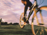 Mountain-Biking on Reservation Land Photographic Print by Kate Thompson