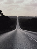An Empty Highway Slices Through the Nulabor Plain Photographic Print by Jason Edwards