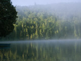 A Foggy Morning on a Placid Lake Photographic Print by Michael S. Lewis