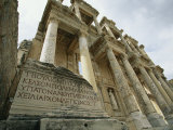 A View of the Ruins of the Library at Ephesus Photographic Print by Tim Laman