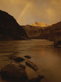 A Rainbow over the Colorado River in Grand Canyon National Park Photographic Print by Dugald Bremner