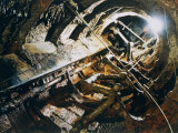 A View of the Corroded Interior of the H. L. Hunley Photographic Print by Ira Block