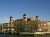 A View of Ellis Island Photographic Print by Ira Block
