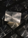 Close-up of Platinum Ingots Bearing the Made in the Ussr Symbol Lmina fotogrfica por Cotton Coulson