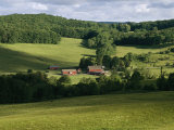 A Farm Near the Headwaters of the Susquehanna River Photographic Print by Raymond Gehman