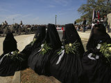 A Civil War-Era Funeral is Recreated for a Crew Lost on the Hunley Photographic Print by Ira Block