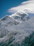 Mount Everest Viewed from Kala Pattar Photographic Print by Michael Klesius