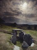 View of Capel Garmon, a Stone Age Burial Chamber in Wales Photographic Print by Farrell Grehan