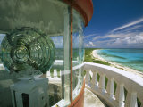 Lens in the Lighthouse Tower at South End of Cozumel Photographic Print by Michael Melford