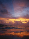 A Multi-Hued Sunset over Marco Island, Florida Photographic Print by Raul Touzon