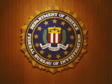 The United States Department of Justice Seal Photographic Print by Richard Nowitz