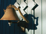 A Weathered Bell Along an Alleyway in Old Santa Fe Photographic Print by Stephen St. John