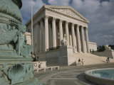View of the United States Supreme Court Photographic Print by Richard Nowitz