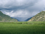 Mountains in the Countryside of Tibet Photographic Print by  xPacifica