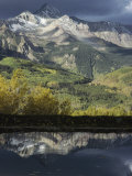 Mount Wilson and the San Juan Mountains Casting Reflections in a Lake Photographic Print by Gordon Wiltsie