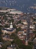 Aerial View of Annapolis Fotografie-Druck von Annie Griffiths Belt