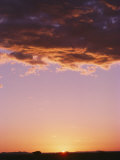 Sunrise in Arizona Photographic Print by David Edwards