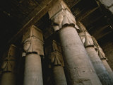 Towering Columns in the Luxor Temple Complex Photographic Print by Annie Griffiths Belt