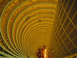The Jin Mao Tower Looking down from the Grand Hyatt Hotel Levels Photographic Print by  xPacifica