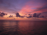 Sunset over the Gulf of Mexico Photographic Print by Paul Damien