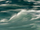 Aqua Blue Waves Photographic Print by Skip Brown