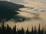 Fog Nestling Among the Peaks of the Bitterroot Range Photographic Print by Sam Abell