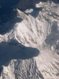 Aerial View of the Mountains of Eastern Tibet Photographic Print by Gordon Wiltsie