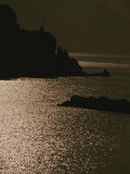 The Cinque Terre Coast at Sunset Photographic Print by Raul Touzon