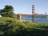 The Golden Gate Bridge Looms above Fort Point Photographic Print by Rich Reid