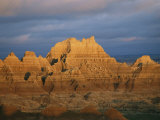 Sunset on the Claystone Buttes of the Badlands Near Cedar Pass Photographic Print by Annie Griffiths Belt