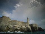 Castillo De Los Tres Reyes Del Morro Fortress, Havana, Cuba Photographic Print by Ira Block