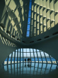 A View of the Inside of the Milwaukee Art Museum Photographic Print by Medford Taylor