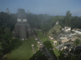 A View of Mayan Ruins at Tikal Photographic Print by Kenneth Garrett