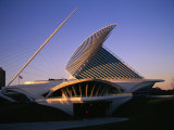 The Milwaukee Art Museum at Twilight Photographic Print by Medford Taylor