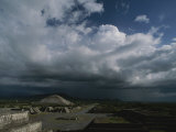 Storm Clouds Gather over Teotihuacan Photographic Print by Kenneth Garrett