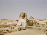 Traditional View of the Great Sphinx at Giza Photographic Print by Joseph Baylor Roberts