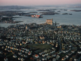 Aerial View of Stavanger Photographic Print by Dick Durrance