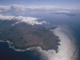An Aerial View of Tierra Del Fuego Near Cape Horn in Chile, Photographic Print