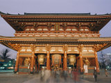 Built in 645 Ad, the Asakusa Kannon Temple is the Oldest Temple in Tokyo Photographic Print by Richard Nowitz