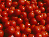 Close-up of Tomatoes at a Market in Helsinki Photographic Print by Todd Gipstein