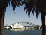 A View of the Sydney Opera House and Harbour Bridge Photographic Print by Bill Ellzey