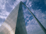 Looking Upwards at the Saint Louis Arch Photographic Print by Medford Taylor
