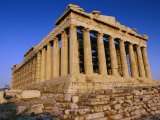 View of the Parthenon Photographic Print by Todd Gipstein