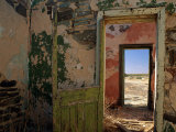 A Doorway Leads to Another Doorway in the Interior of an Abandoned Building Photographic Print by Medford Taylor
