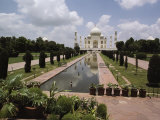 The Taj Mahal in Agra, the Final Resting Place of Shah Jahan, Fifth Mogul Emperor of India Photographic Print by James P. Blair