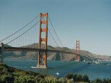 Golden Gate Bridge as Seen from the South River Fotografisk trykk av Joseph Baylor Roberts