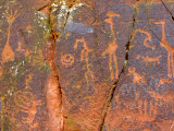 Petroglyphs Believed to Have Been Made by the Sinagua Indians Photographic Print by Charles Kogod