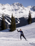 Cross Country Skiing in a Scenic Location Photographic Print by Taylor S. Kennedy