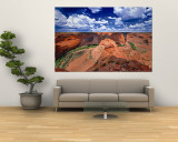 Canyon Wall Mural by George Oze