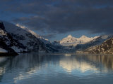 Mountain Reflections in Johns Hopkins Inlet at Sunrise Photographic Print by Ralph Lee Hopkins